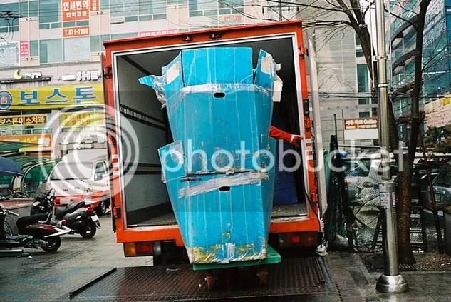 Trevor Marczylo Korea Color Street Photography