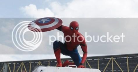 Tom Holland as Spider-man (Walt Disney Studios Motion Pictures)