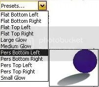 Interactive Drop Shadow Tool