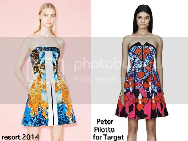 Fashion Trend Guide: Peter Pilotto For Target Vs. The