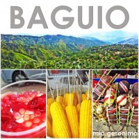 Baguio Weekend and the Chase for the Strawberry Taho
