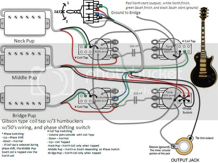 3pupscoilphase?resize\=665%2C497 coil tap wiring diagram push pull push pull coil tap wiring Telecaster 3 -Way Switch Wiring Diagram at alyssarenee.co