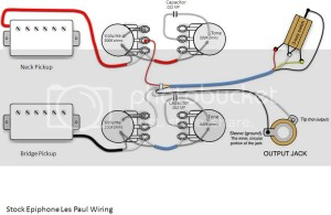 50s wiring on an Epiphone Les Paul | The Gear Page