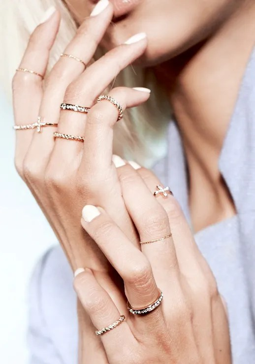 Le Fashion  JEWELRY CRUSH  THPSHOP RING COLLECTION Le Fashion Blog Jewelry Crush THPSHOP Ring Collection Cuffs The Haute  Pursuit Pastel Looks Vanessa Hong