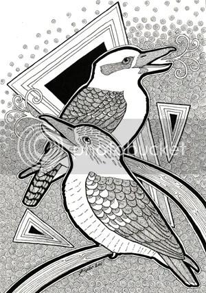 kookaburra by Ravenari