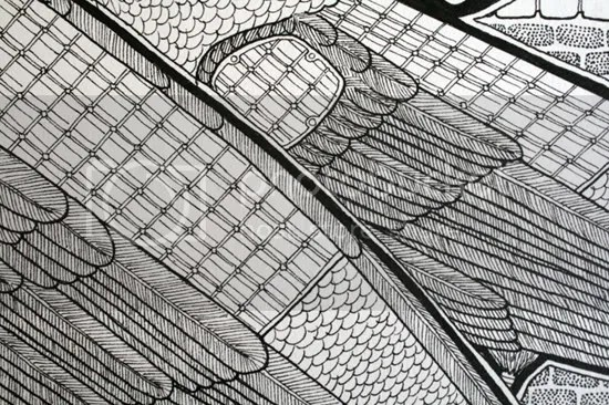 Portable Photovoltaic Systems - pre-colouring - detail - by  Ravenari