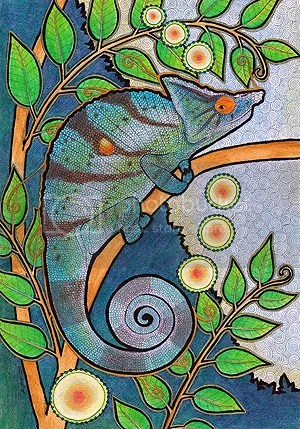 Parson's Chameleon by Ravenari