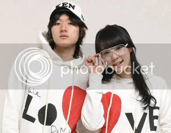 แฟชั่นเสื้อกันหนาวเกาหลี คู่ีีรัก