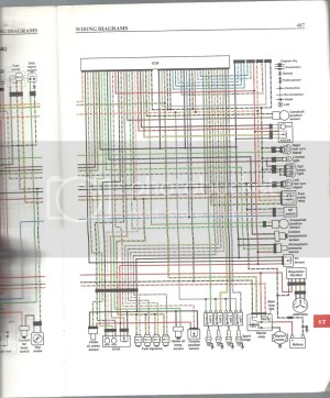K5K6  Gauge wiring diagram or gear indicator circuit