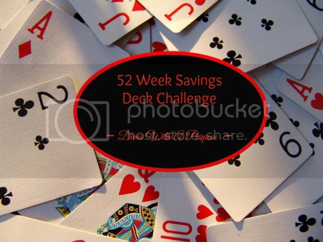 52 Week Savings Deck Challenge