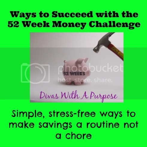 Ways to Succeed at the 52 Week Money Challenge