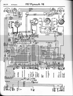 1958 Plymouth wiring Diagram