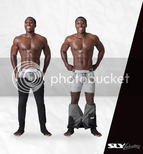 Men's underwear picture featuring SLY Underwear