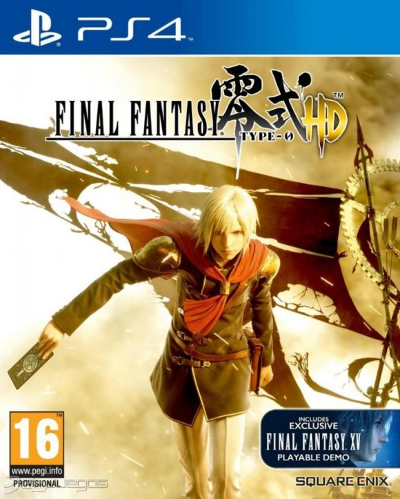 Final Fantasy Type 0 HD Para PS4 3DJuegos