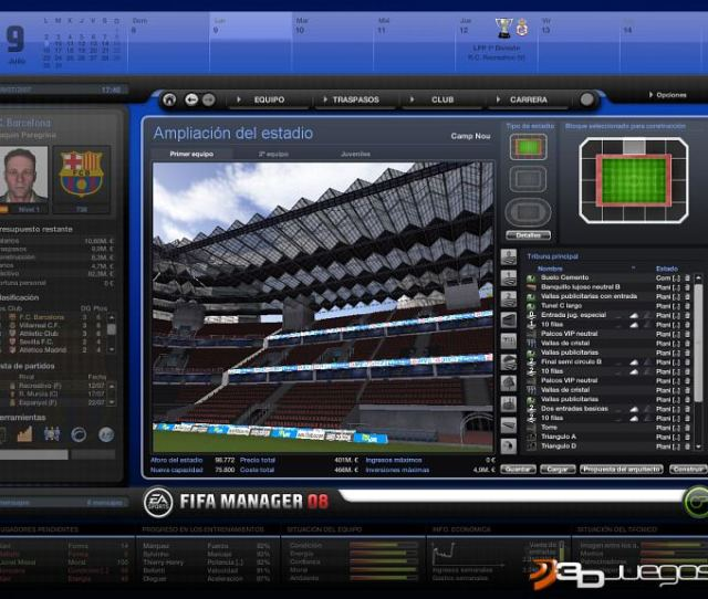 Fifa Manager 08 Analisis