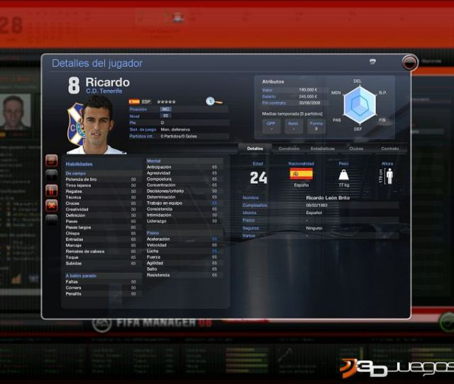 Fifa Manager 08 Pc
