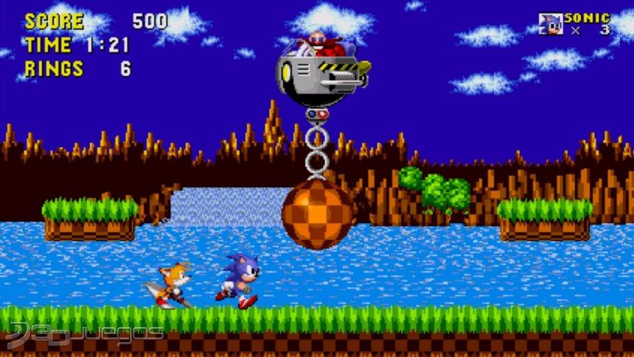 Sonic The Hedgehog Para Megadrive 3DJuegos