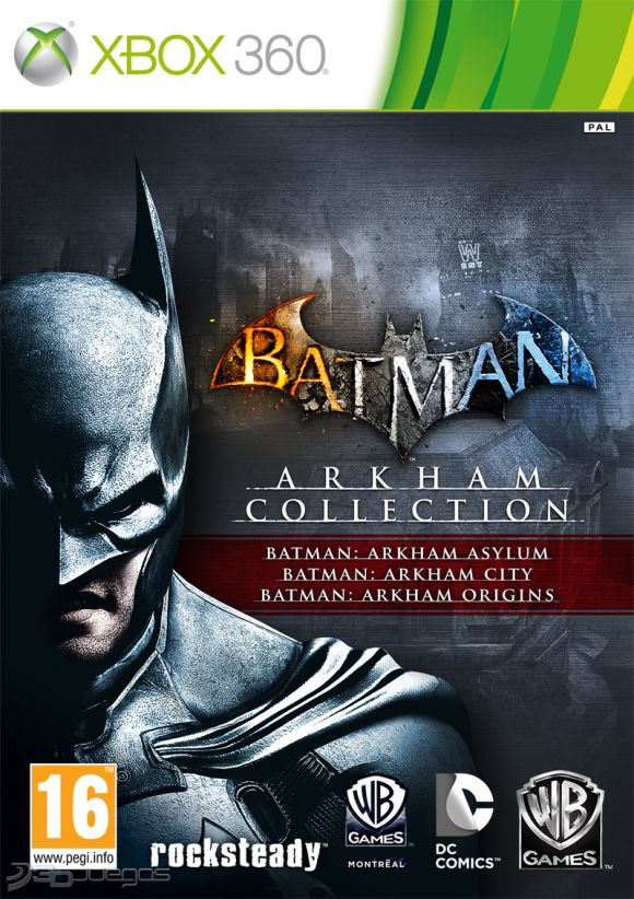 Batman Arkham Collection Para Xbox 360
