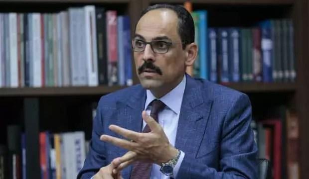 Cumhurbaşkanlığı Sözcüsü Kalın'dan 'İsrail-BAE mutabakatı'na reaksiyon 1
