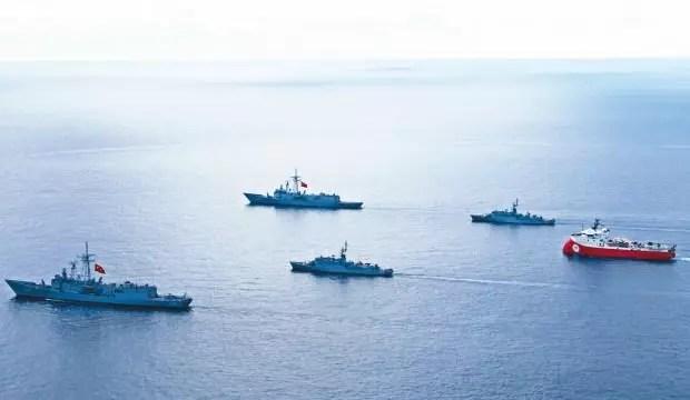 Komşuyu bekleyen tehlike! Türkiye'nin deniz gücü korkutuyor 1