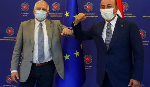Bakan Çavuşoğlu, AB Komite Lider Yardımcısı Fontelles ile görüştü 1