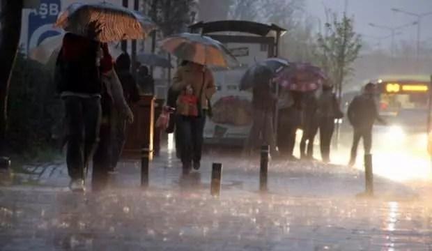 Meteoroloji'den sağanak yağmur uyarısı! Listede İstanbul da var, bugün başlıyor 1
