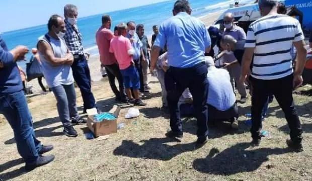 Şile'de denize giren iki kardeş boğuldu 1