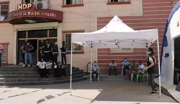 HDP önündeki ailelerin evlat nöbeti 358'inci gününde 1