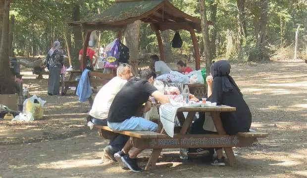 Belgrad Ormanı'nda hafta sonu yoğunluğu 1