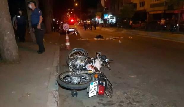 Nazilli'de motosiklet kazası: 1 meyyit 1