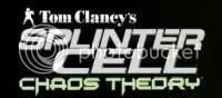 Logo do jogo Splinter Cell. Chaos Theory