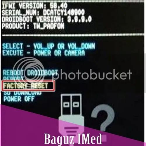 Cara Hard Reset Asus Zenfone 4 dan 4C