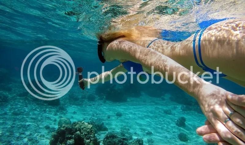 Hasil Foto Kamera GoPro Bawah air