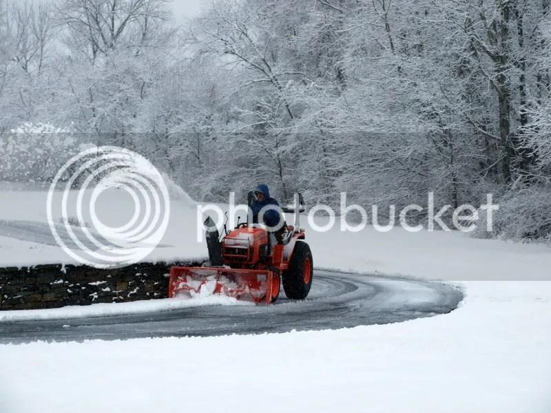 Snow Chains Kubota B3030