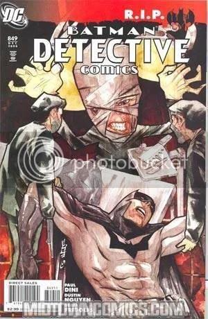 DETECTIVE COMICS #870