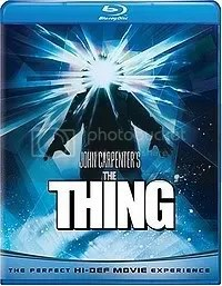 THE THING(82) BLU RAY 9/30