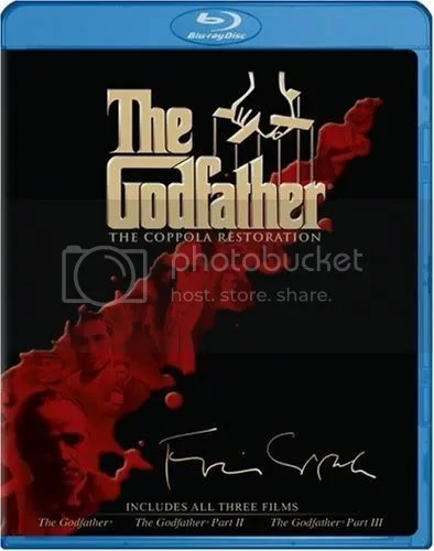 GODFATHER TRILOGY Coppola Cut 9/23