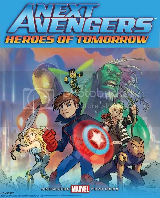 NEXT AVENGERS...OR HOW TO PUT OUT A CRAP STR8 TO DVD MOVIE