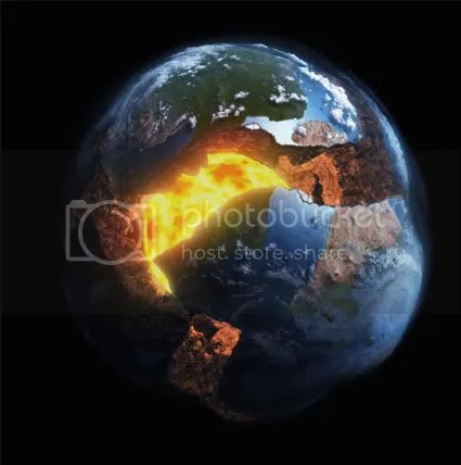 This can happen to the earth and its still there? Whyd they have to put Superman in a rocket?