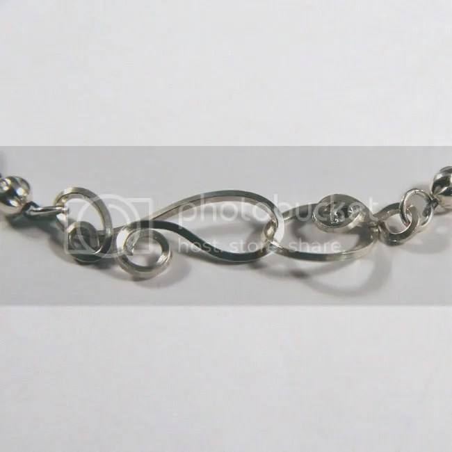 sterling silver handmade clasp