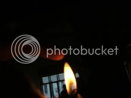 Finger on Flame