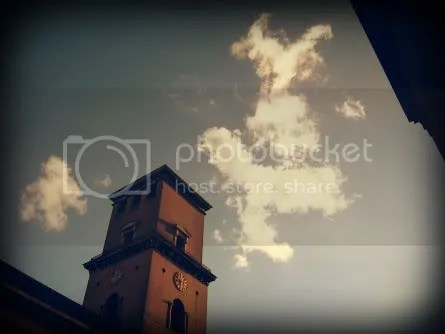Cloud and church