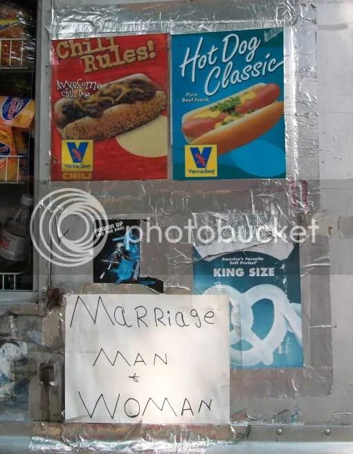 Hot Dog Marriage