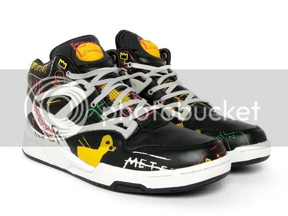 reebok,Jean-Michel Basquiat,mshoes,kicks,sneaker