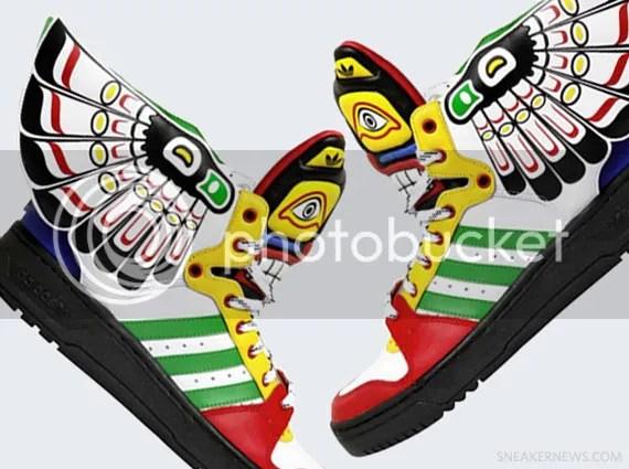 "Jeremy Scott x adidas Originals JS Wings ""Eagle"""