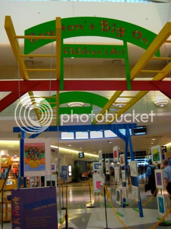 Houston Children's Art at Hobby Airport
