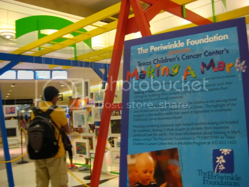 Periwinkle Foundation Texas Childrens' Cancer Center Art