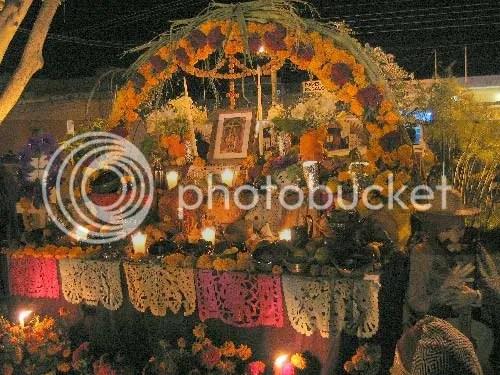 Dia De Los Muertos Temporary Shrine