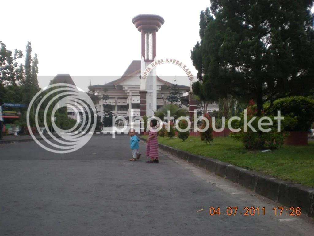 Jalanan Rektorat UNY