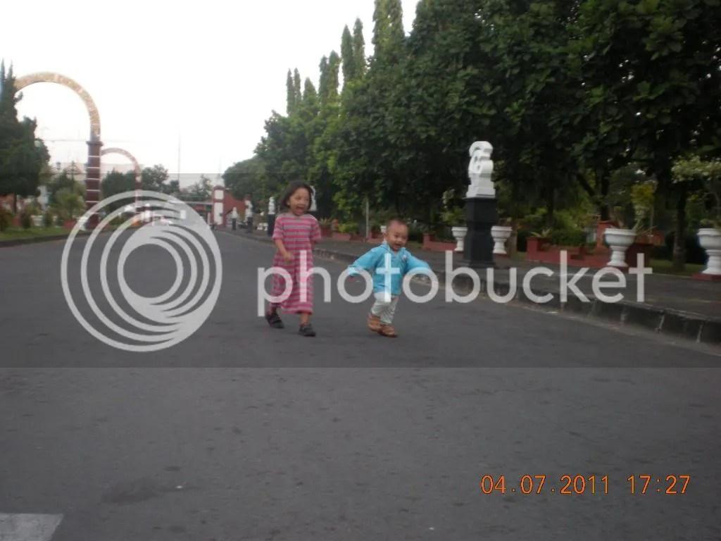 Jalanan Rektorat UNY 2